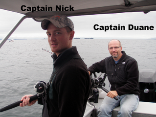 Juneau fishing, meet the captains Nick and Duane