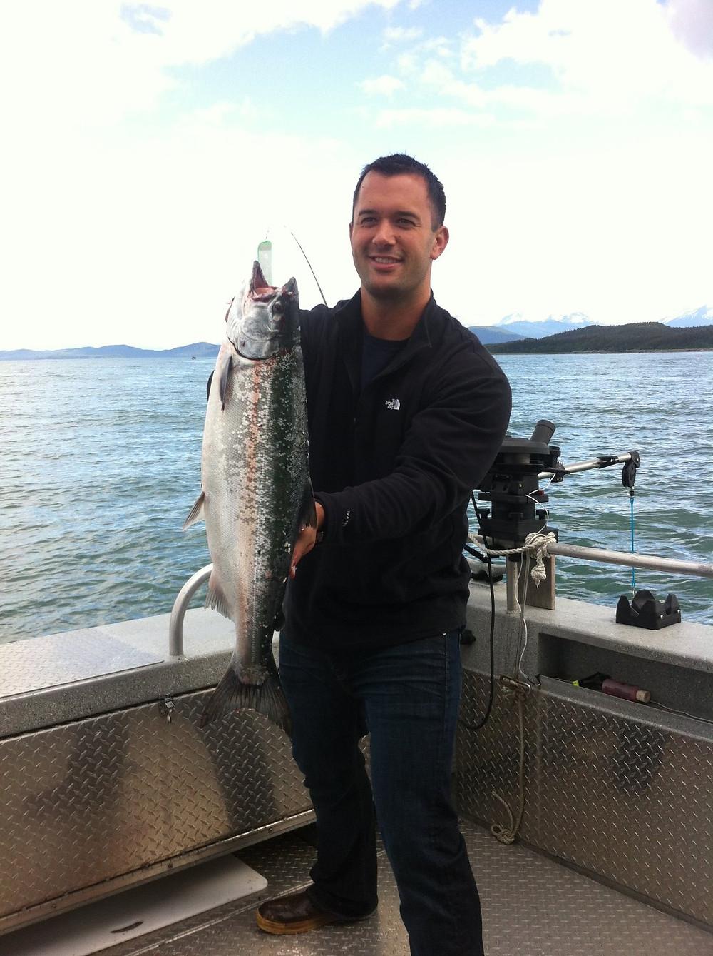 Fishing in Juneau