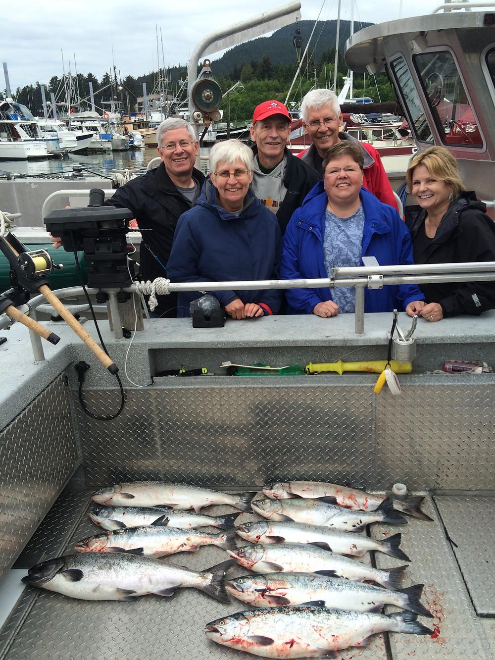Salmon Fishing in Juneau Alaska