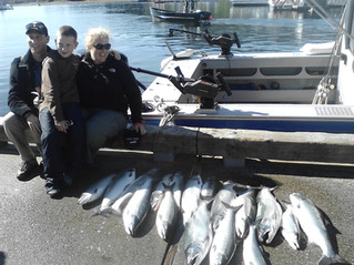 Juneau Alaska, the state capital and fishing capital of Alaska.