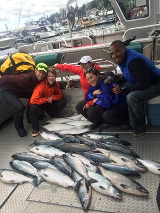 2016 Fishing in Juneau Alaska