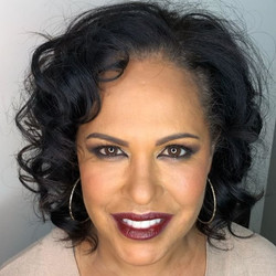 Christine Anu _Hair & Makeup by me _What