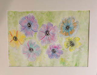 First Watercolour Flowers