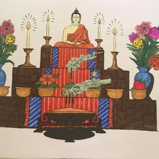 Drawing for mindfullness