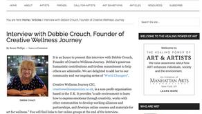 """Creative Wellness """"World Changer"""" by The Healing Power of ART & ARTISTS"""