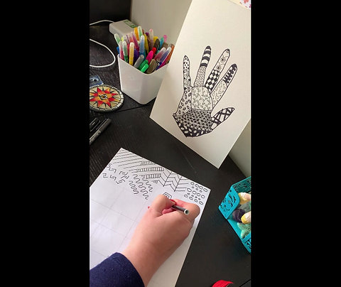 Zen Patterns & Hand