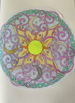 Colouring In Mandella