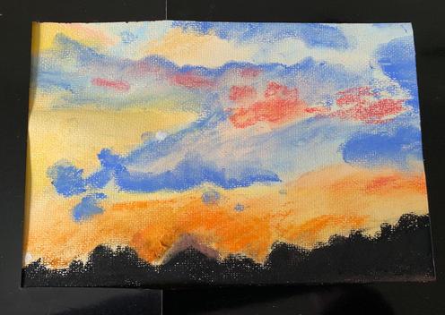 Sunset chalks