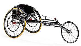 Carrera silla de Atletismo