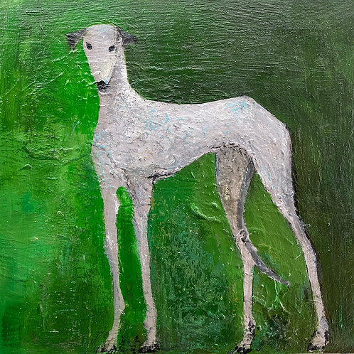 Greyhound on Green