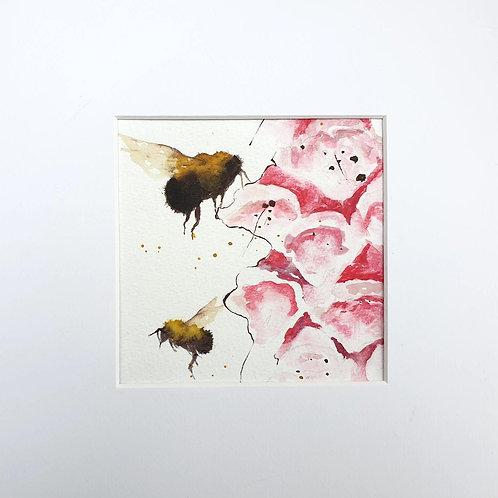 Bees & Foxgloves