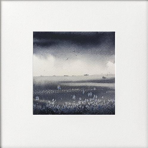 Monochrome -English Channel grey day