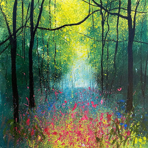 Seasons - Spring Splashes of Wildflowers
