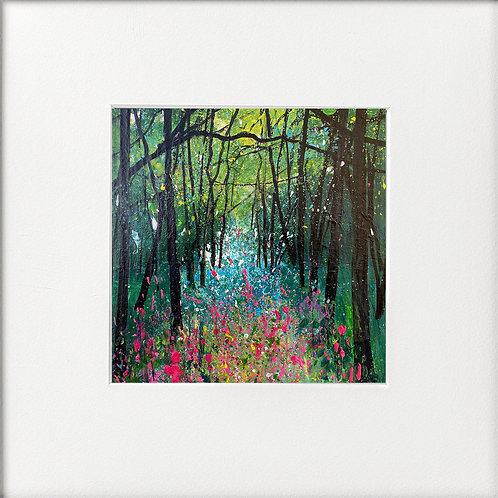 Seasons Spring - Impression of Foxgloves