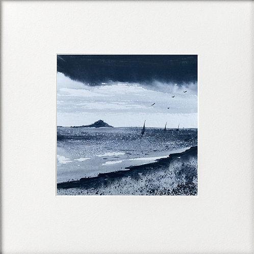 Monochrome - St Michaels Mount Cornwall