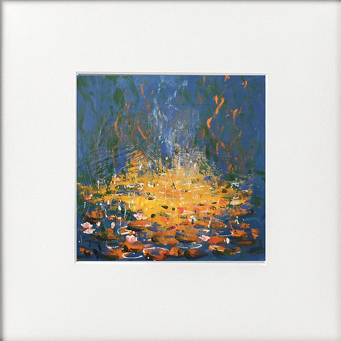 Seasons - Summer Orange Waterlillies