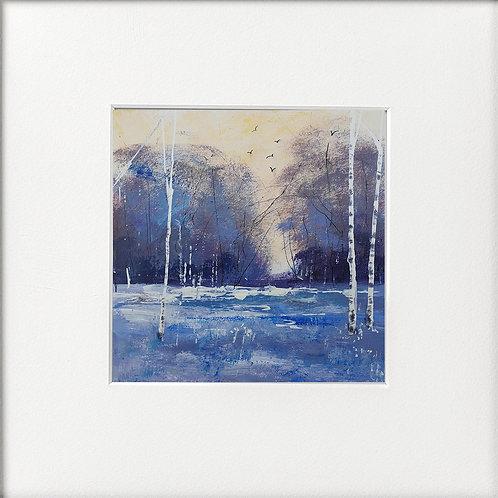 Seasons - Winter Lakeside