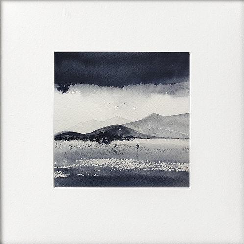 Monochrome - Lakes Under Low cloud base