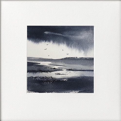 Monochrome - Raining in distance
