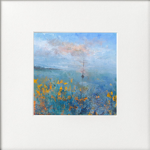 Seasons - Autumn Sea Mist Lone boat