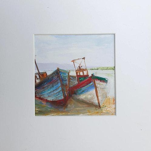 Two Old Trawlers Isle of Mull