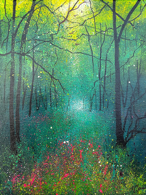 Seasons - Spring in the Woodland
