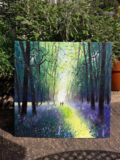 Bluebell Landscape