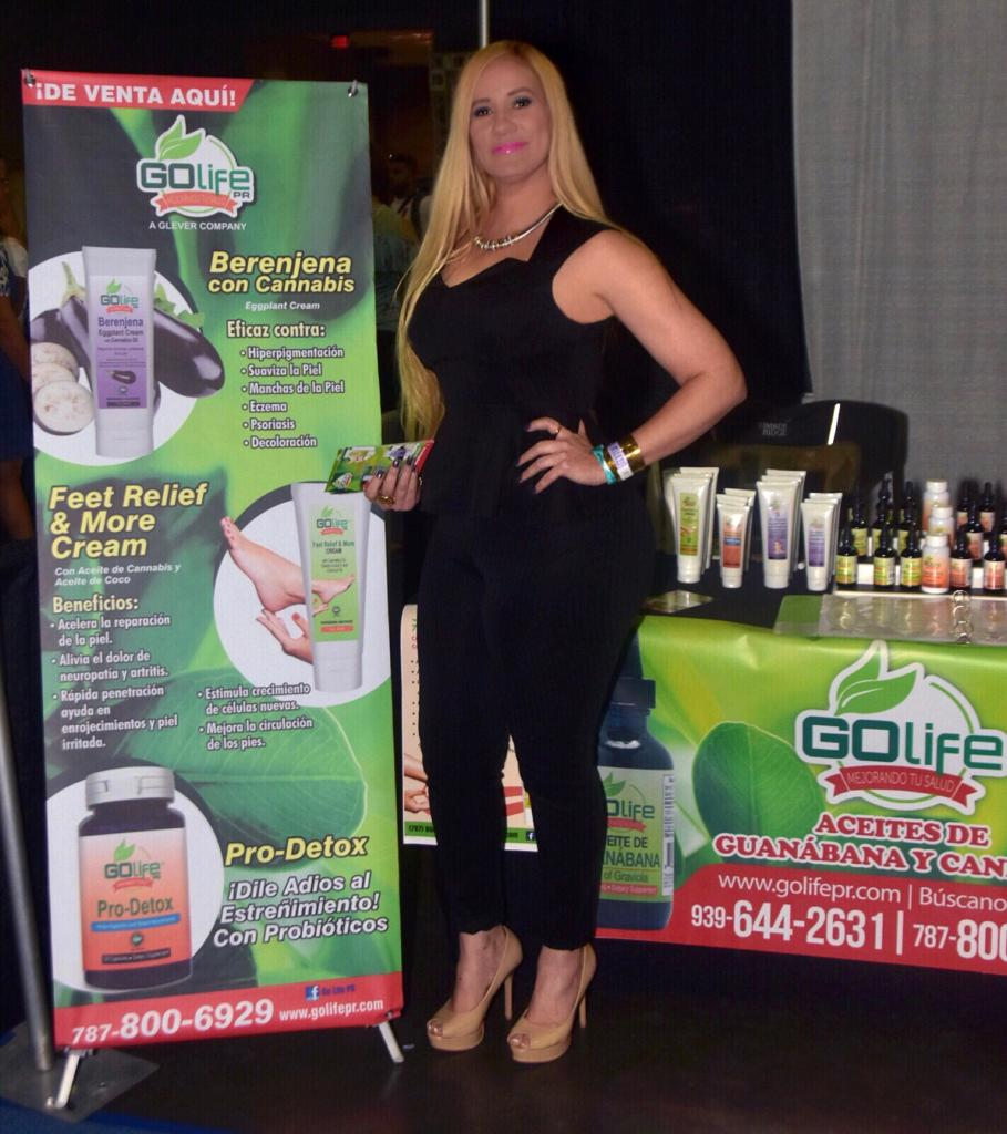 Exhibición en San Juan Beauty Show