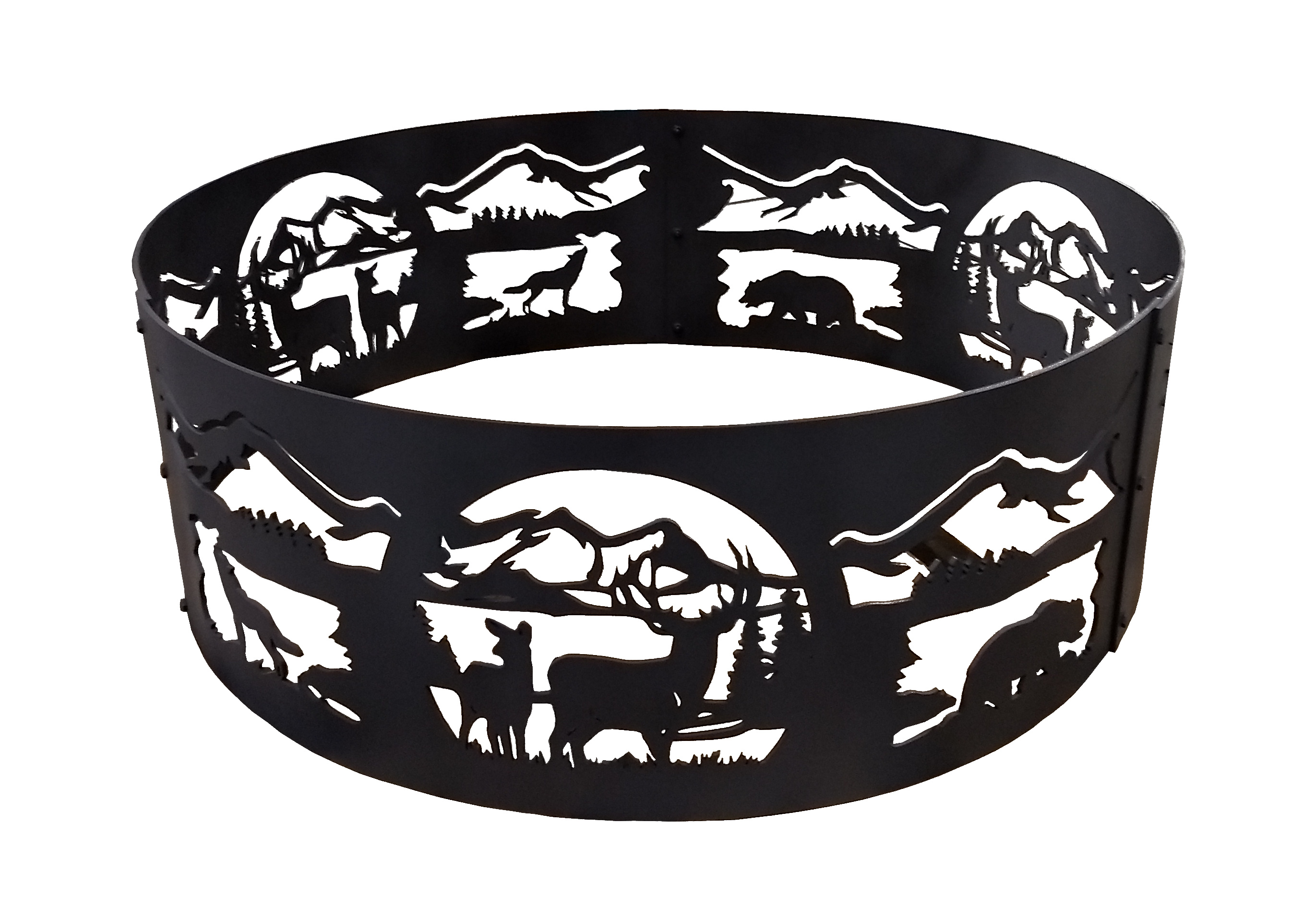 Deer Nature Fire Ring