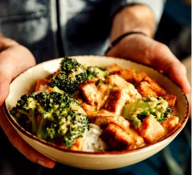 Kimchi op het menu..