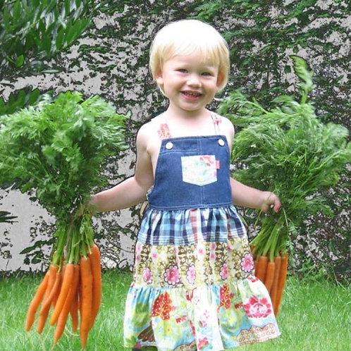 Kindermaaltijd: wortel, tomaat, zoete aardappel gratin