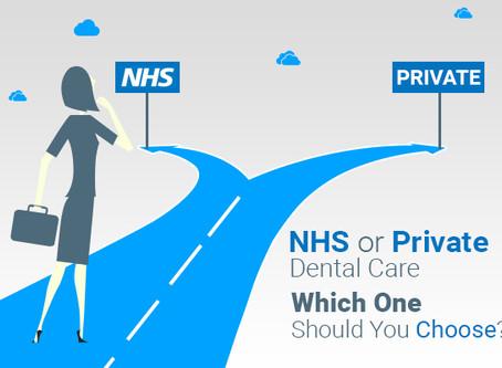 NHS Vs Private Dental Care