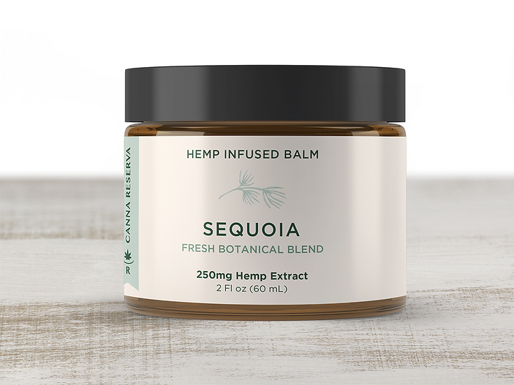 SEQUOIA topical from CANNA RESERVA front view