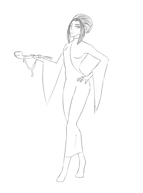Refined Sketch 1