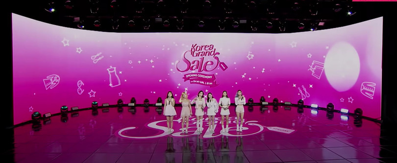 Korea Grand Sale Opening Ceremony with OH MY GIRL & B1A4![2021.01.14]