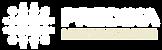 White image, White text, with white stra
