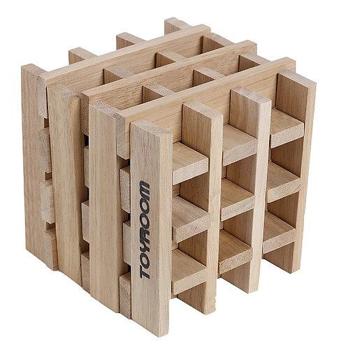 Toyroom Wooden  Planks / Building Bricks (50 Pieces)