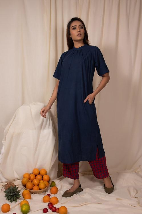Blueberry Kurta and Pants Set