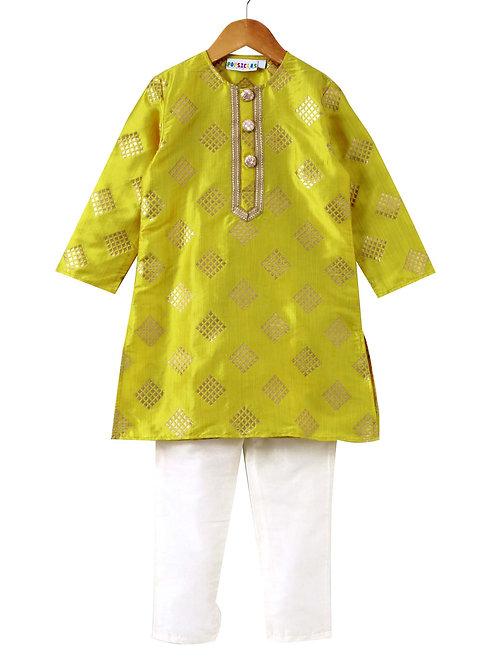 Turmeric Kurta Pyjama set