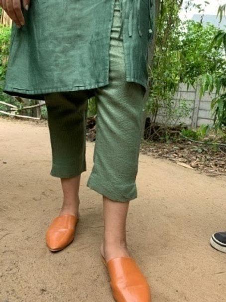 Zari Stripes - Straight Pants