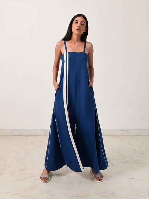 Indigo Strappy Jumpsuit
