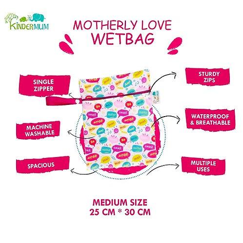 Motherly Love- Medium kinder WetBags