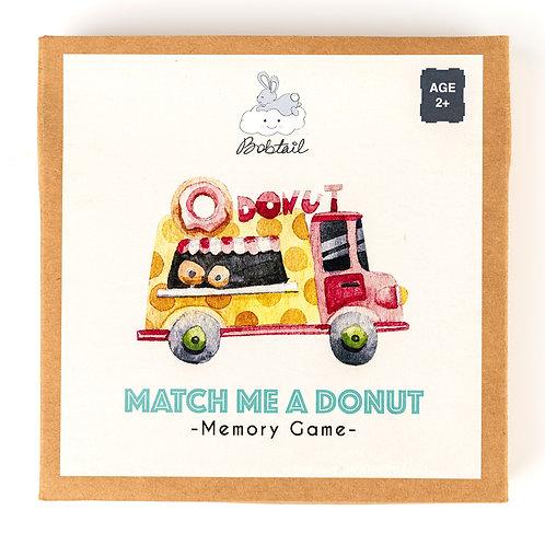 Donut Memory Cards