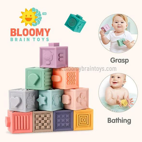 Soft 3D Building Blocks For Babies