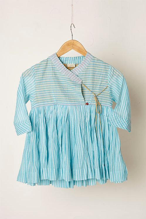 Blue Kedia Dress