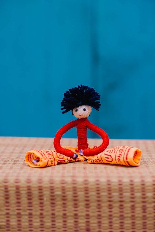 Woollen Bending Doll