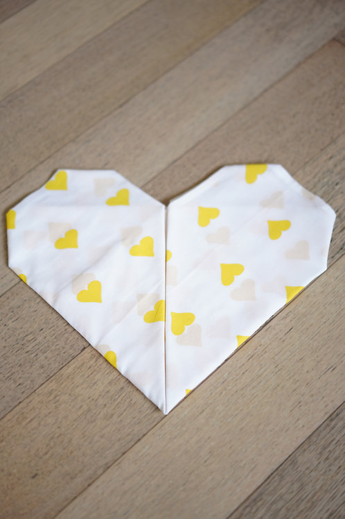 Grace' Organic Cotton Swaddle in Sunshine Yellow