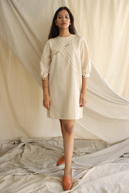 Cotton Linen Tunic - Hyphy Ivory