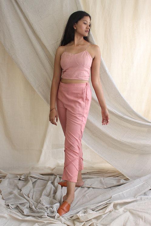 Pleat Pants Pink