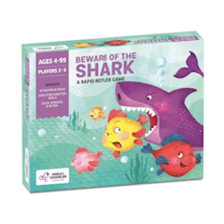 Chalk and Chuckles Beware of The Shark - Fun Family Game, Fast Reactions.